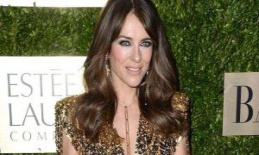 On the Set of The Royals: Here's Liz Hurley bathe...