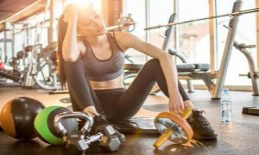 Due to the summer heat: the majority of limits your Training in the Gym