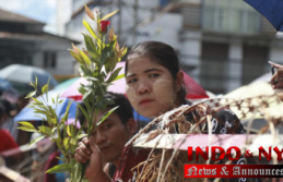 Crowds outside Myanmar's prisons greet freed detainees
