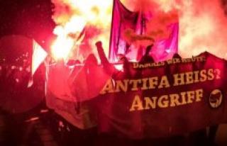 Applicants on the Silvio-Meier-Demo: Antifa means...