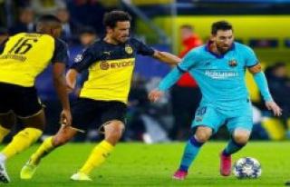Barcelona saves effort in the evening
