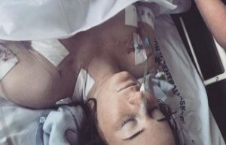 'Jesper' put his hand on Cecilies bleeding neck: 'I...