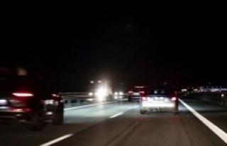 Kasandra met spøgelsesbilist on the highway: 'I when...