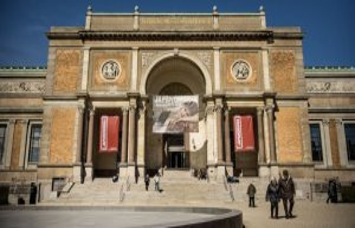 Museum puts large amounts of termination kælderkunst...