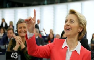 Von der Leyen get solid support for its EU-Commission