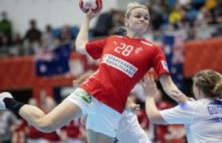 Abroad draws in håndboldlandsholdets states