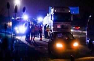 Accident on Amagermotorvejen: Rampant queue