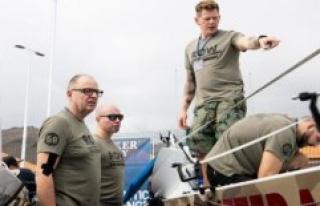 Four Danish men will travel over the Atlantic ocean...