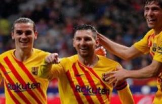He did it eddersparkeme again! Messi lowers Atlético...