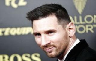 Lionel Messi named world's best footballer