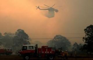 PHOTOS: Flames, smoke, ravaging the australian state...