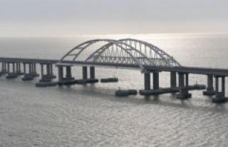 Putin inaugurates rekordlang railway bridge to the...