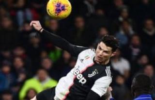 Ronaldo pandede winner in the net in 2.5 meters height