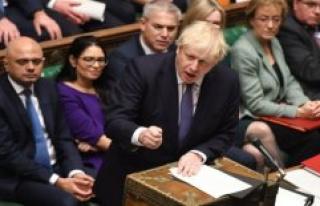 The british House of commons adopts Boris Johnson's...