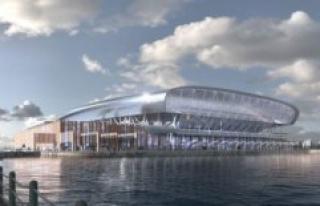 View the photos: Everton presents the new stadium