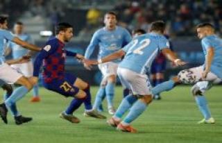 Quique Setién: The possession makes the opponent...