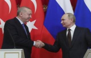 Putin, Erdogan, in the Hand