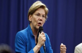 The bitter end, the former favorite of Elizabeth Warren