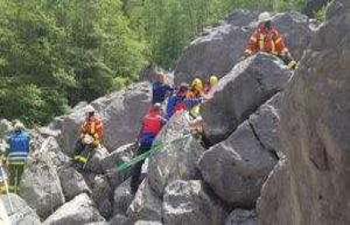 Bavaria: Heavy Boulder-the accident in the Allgäu...