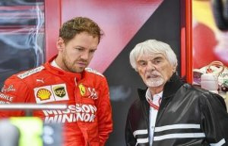 Bernie Ecclestone: Vettel wants to drive for Mercedes...