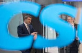 Corona: CSU party Congress on the net - Söder expected...