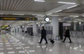 Corona: malls-holiday burst - German failed entry...