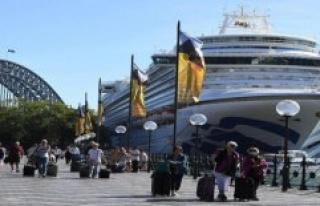Cruise origin of the Virus disease? Police in Australia...