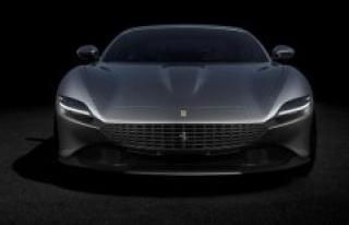 Exclusive pictures: Ferrari Roma comes to life