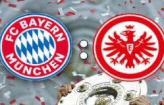 FC Bayern - Eintracht Frankfurt in the Live Ticker...