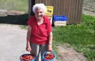 Fahrenzhausen: great Grandma Magdalena Schreiber celebrates...