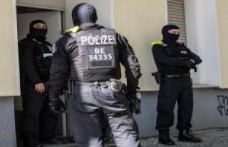 Fashion drug Tilidin: Four men after a RAID in Berlin...