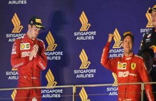 Formula 1 : Sebastian Vettel and Ferrari are separated...