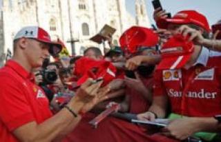 Formula 1: Vettel-From - Sit again soon, a Schumacher...
