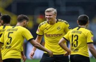 Full chapel up on Reus - Borussia Dortmund starts...