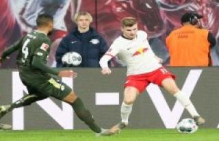 Goal Party against the gate-slack? RB Leipzig against...