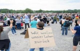 Hamburg: Whitsun week-end: Demos against Corona-restrictions