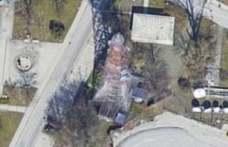 Munich BR radio tower is on fire - investigation still...