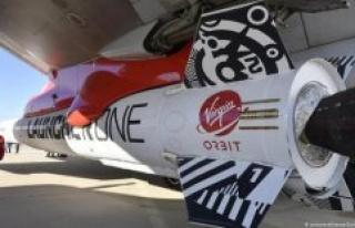 Test flight of Virgin rocket failed