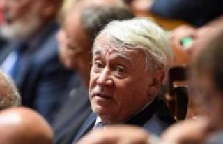 The deputy of Paris, Claude Goasguen is death of the...