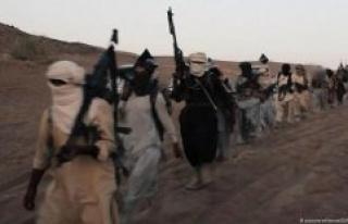 The terrorist IS militia returns