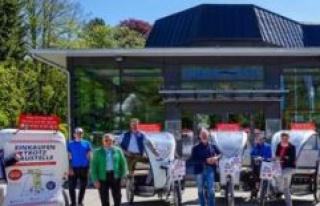 Wolfratshausen: Free rickshaw Service will be at 5....