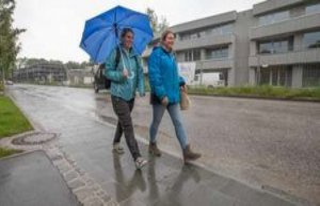 Anger over lack of bike path: a citizen's criticism...