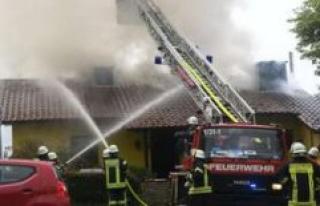 At Darmstadt: firefighter Dead after fire in Fürth...
