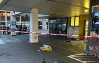 Augsburg: police use of escalating shots to drunken...