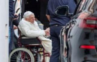 Bavaria: Pope Benedict XVI surprisingly in Regensburg...