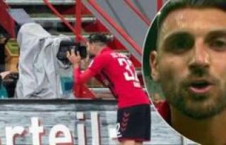 Bundesliga: Vincenzo Grifo sends message to Sky viewers...