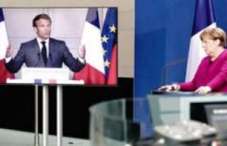 Chaotic response of the EU to Corona: Merkel and Macron...