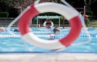 Chlorine gas occur in the Augsburg indoor pool, outdoor...
