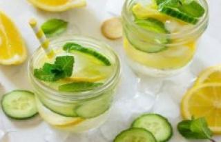 Detox-summer drinks, Healthy soft drinks for losing...