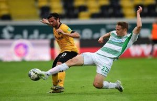 Dresden: Despite Keita-Ruel's career goal: Fürth...